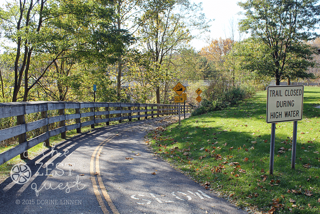 Hiking-Challenge-2015-Ohio-Hike-4-Brust-Park-entrance-to-Bike-and-Hike-trail-under-roadway-Munroe-Falls-2-The-Zest-Quest