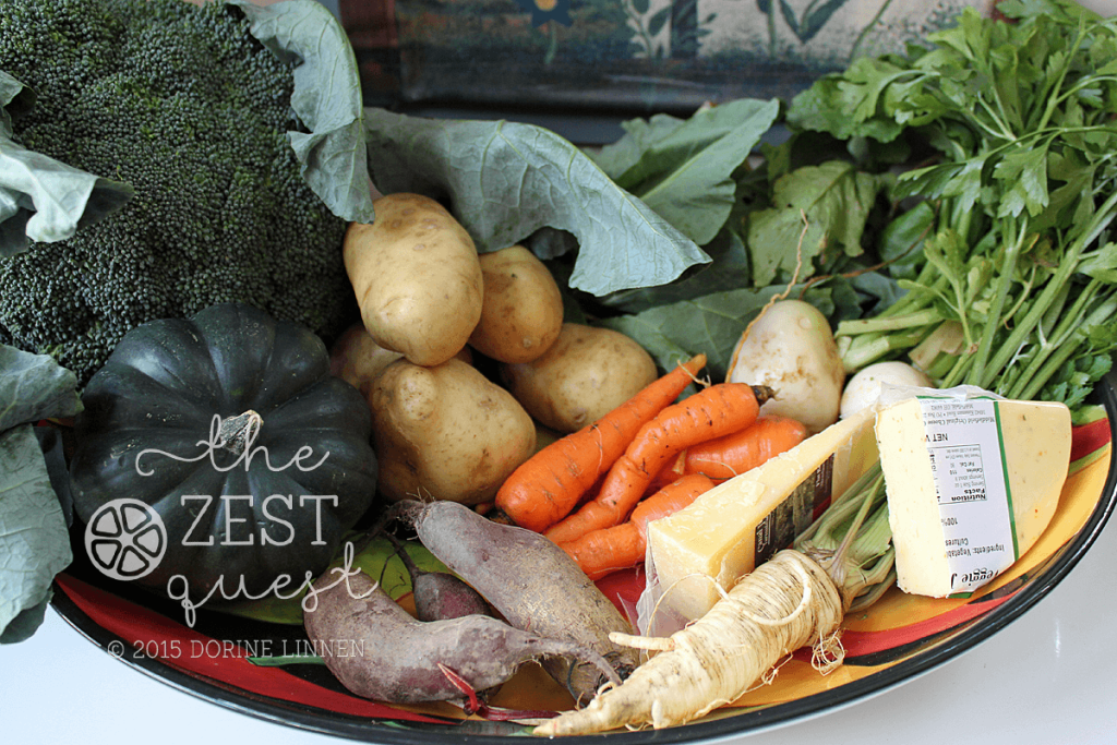 Ohio-Farm-Share-Winter-Week-2-half-Vegetarian-Pilot-veggies-only-with-unusual-Parsley-Root-2-The-Zest-Quest