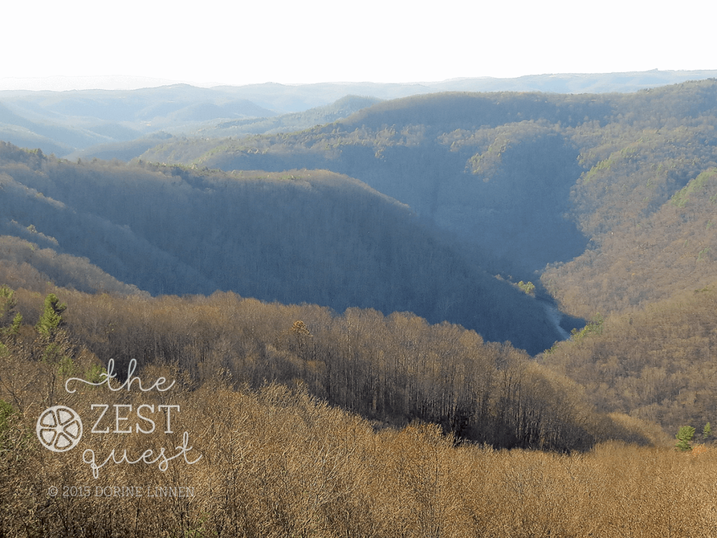 Pipestem-State-Resort-Park-water-visible-at-bottom-of-gorge-from-the-hotel-on-clear-day-2-The-Zest-Quest