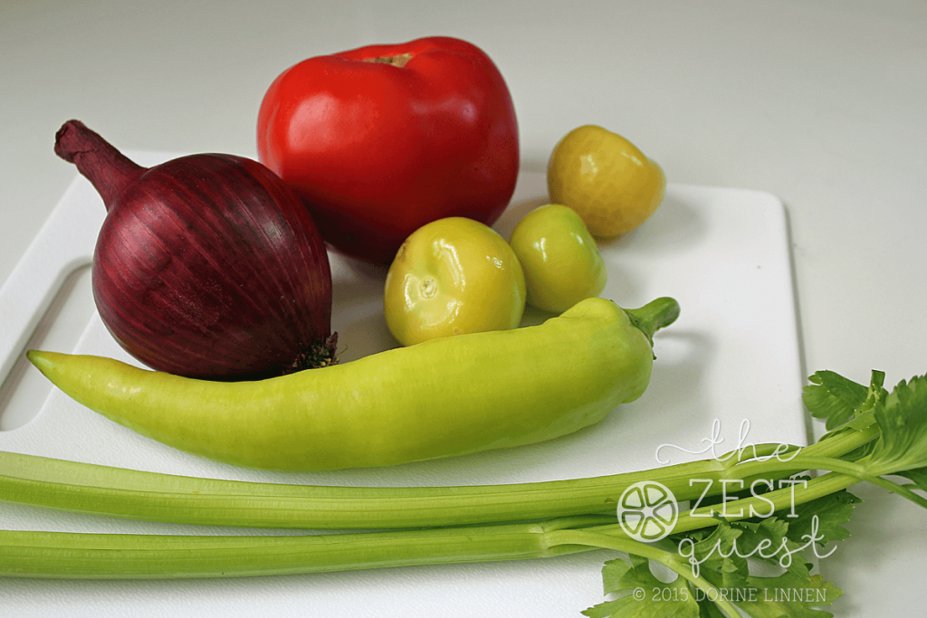 Zesty-Salsa-Bean-Salad-Recipe-includes-chopped-Red-Onion-Tomato-Tomatillo-Hungarian-Hot-Pepper-Celery-2-The-Zest-Quest