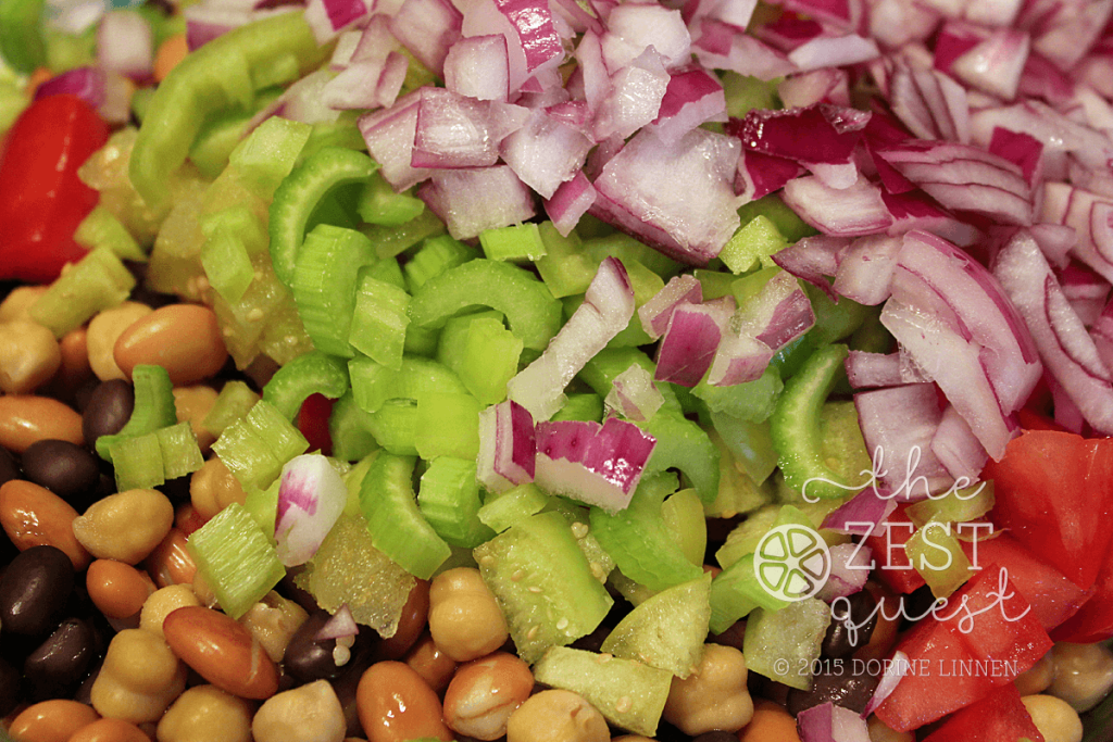 Zesty-Salsa-Bean-Salad-Recipe-includes-chopped-Red-Onion-and-Celery-2-The-Zest-Quest