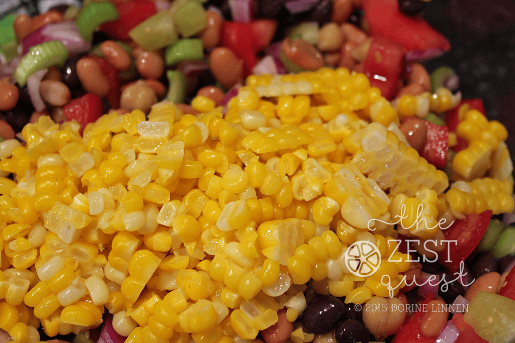 Zesty-Salsa-Bean-Salad-Recipe-includes-fresh-cooked-corn-sliced-off-the-cob-or-frozen-2-The-Zest-Quest