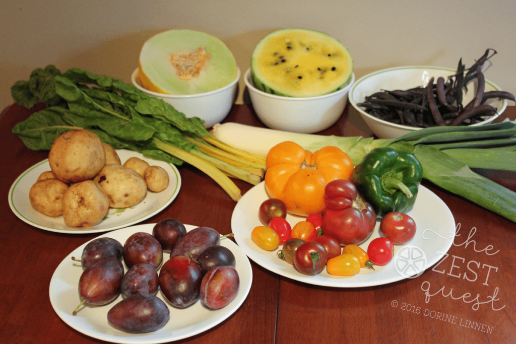Ohio-Farm-Share-Summer-Week-11-is-plenty-half-share-with-garden-bounty-and-love-the-variety-of-fruit-2-The-Zest-Quest