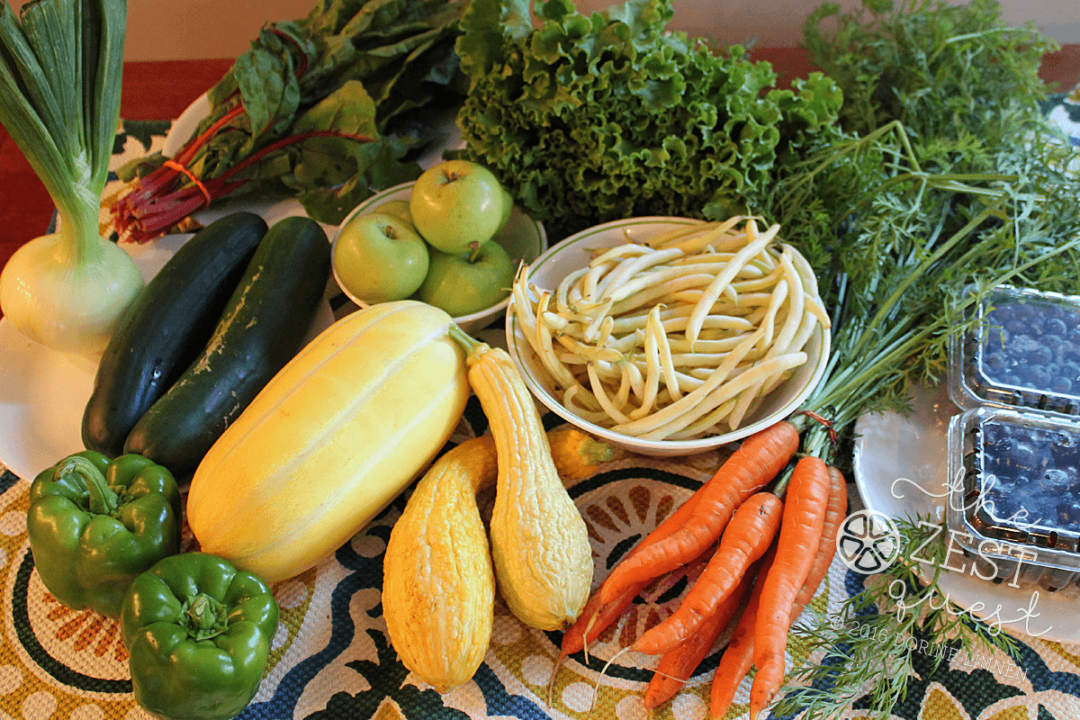 Ohio Farm Share Summer Week 9 encourages Stir Fry Steam