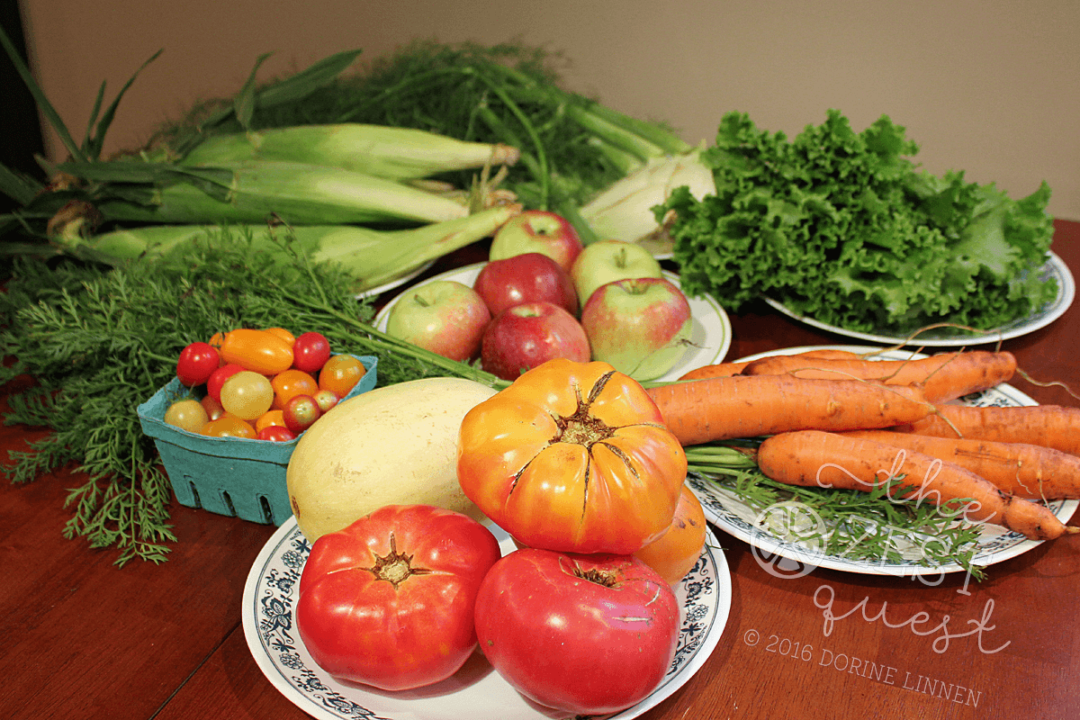 Ohio Farm Share Summer Week 13 includes Heirloom Tomatoes and more