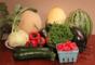 Ohio Farm Share Summer Week 15 season with Poblanos includes Melons, Squash, Kohlrabi, Lettuce, Tomatoes and Eggplant