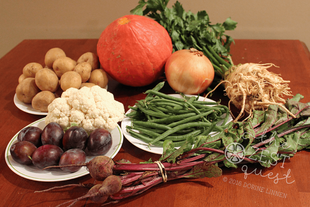 ohio-farm-share-summer-week-20-vegetarian-half-includes-red-kuri-squash-celeriac-cauliflower-beets-yukon-gold-potatoes-onion-green-beans-2-the-zest-quest