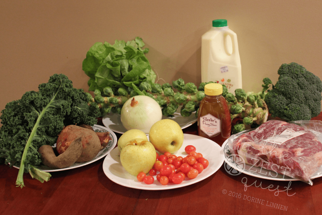 ohio-farm-share-winter-week-1-2016-omnivore-half-plus-extras-includes-milk-honey-and-roast-with-root-crops-lettuce-tomatoes-apples-kale-2-the-zest-quest