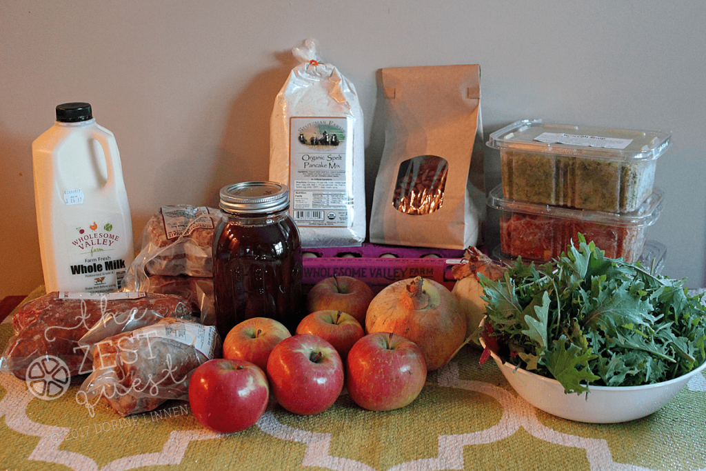 Winter Farm Share Living