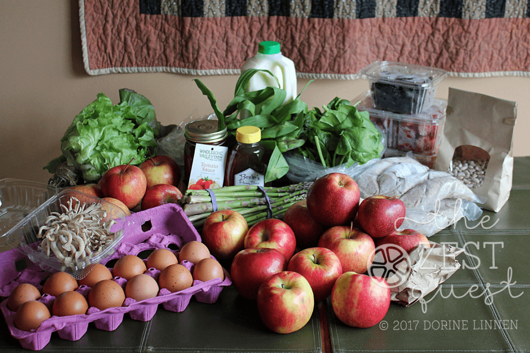 End of Winter Farm Share Living