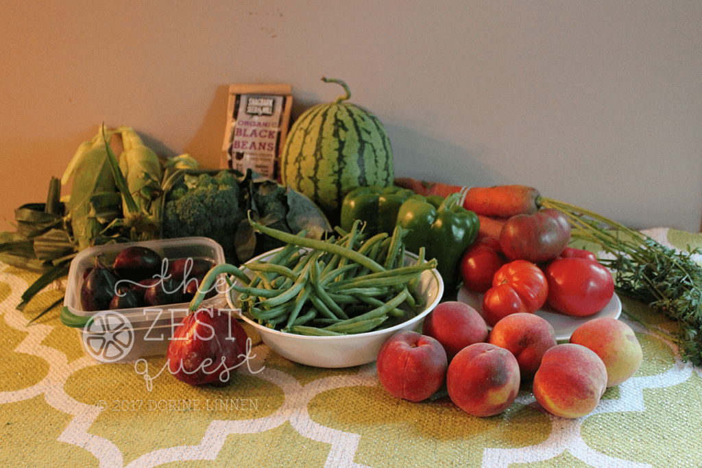 Late Summer Farm Share offers corn and fruit a plenty