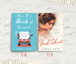 Mrs P's Book of Secrets, aka The Book Ghost by Lorna Gray