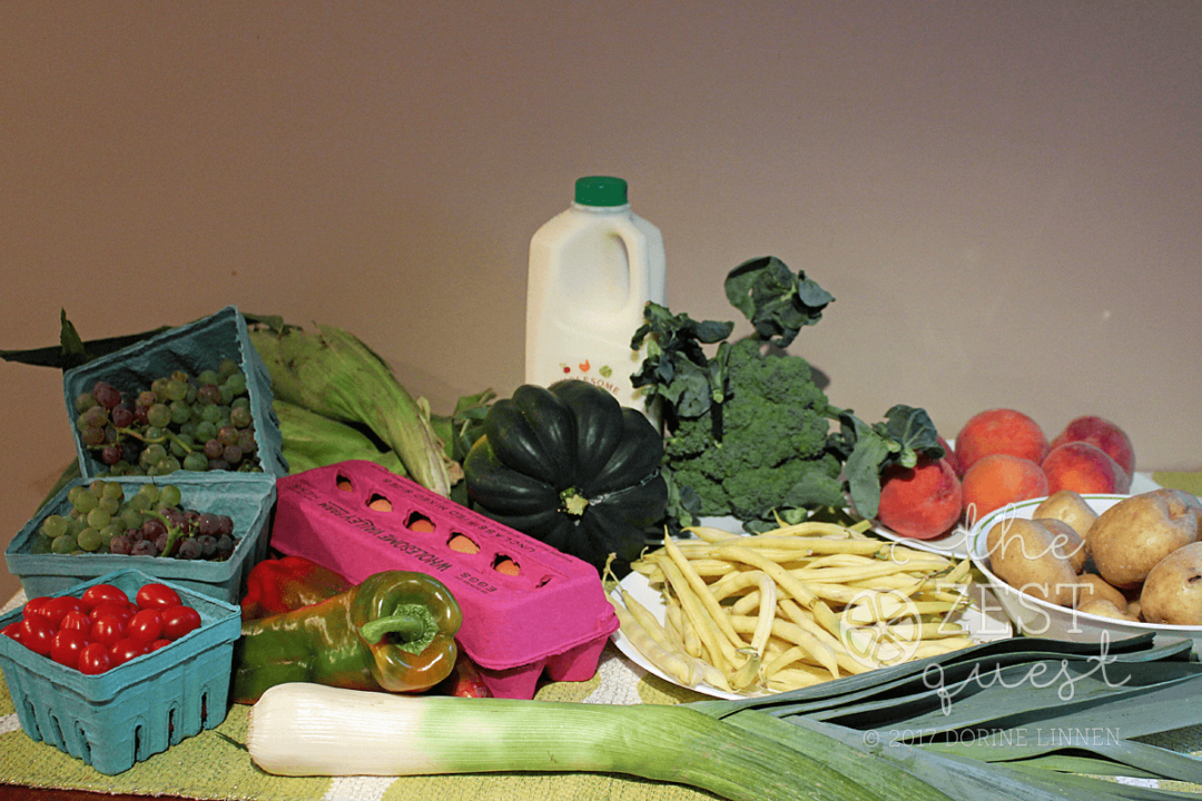 Late Summer Farm Share offers corn and fruit a plenty